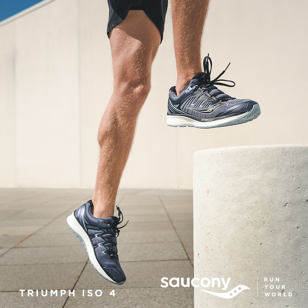 Saucony, RUN YOUR WORLD