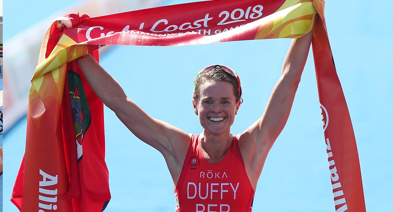 Flora Duffy gana el primer oro de los Juegos de la Commonwealth en Gold Coast.