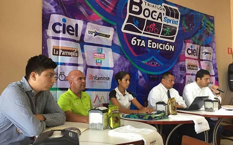 Fue presentado el Triatlón Sprint de Boca 2018.