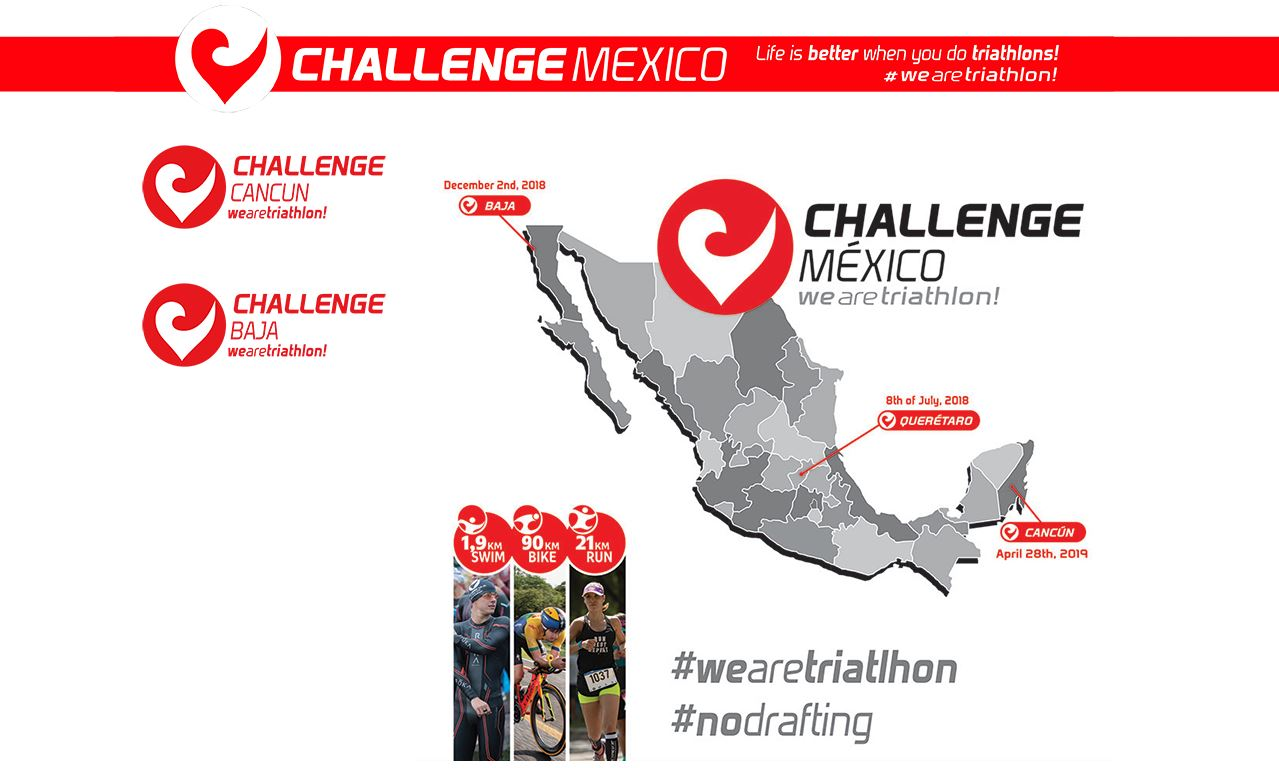 ¡Challenge Family crece en México! Challenge Baja y Challenge Cancún se unen al famoso Challenge San Gil.