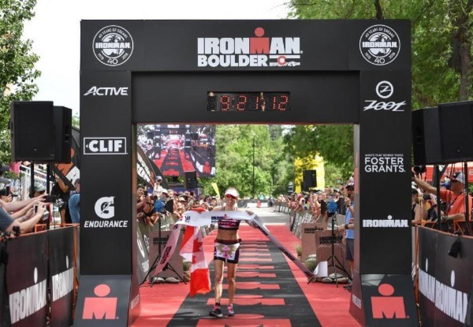 Chris Leiferman y Kirsty Jahn brillantes en el Ironman Boulder.