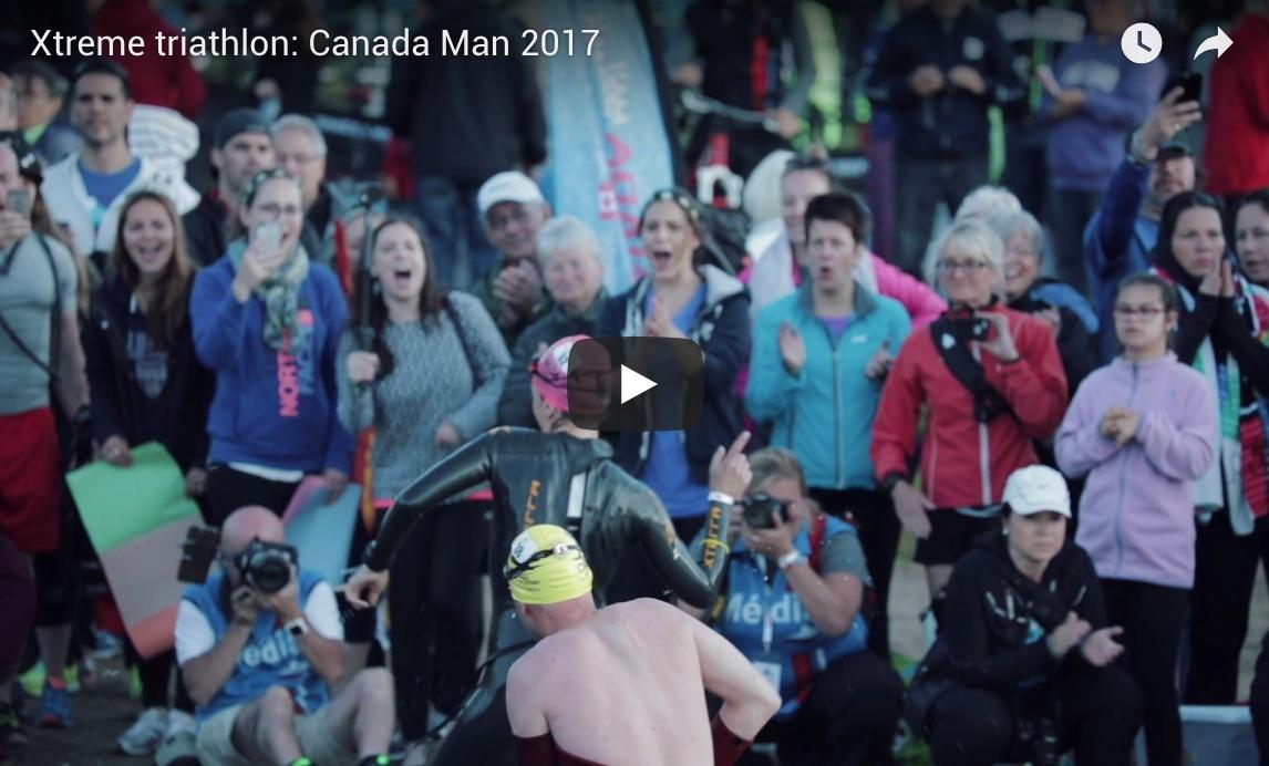 Xtreme triathlon: Canada Man 2017