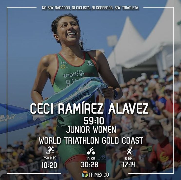 ¡Cecilia Ramírez Campeona del Mundo Junior en Gold Coast!