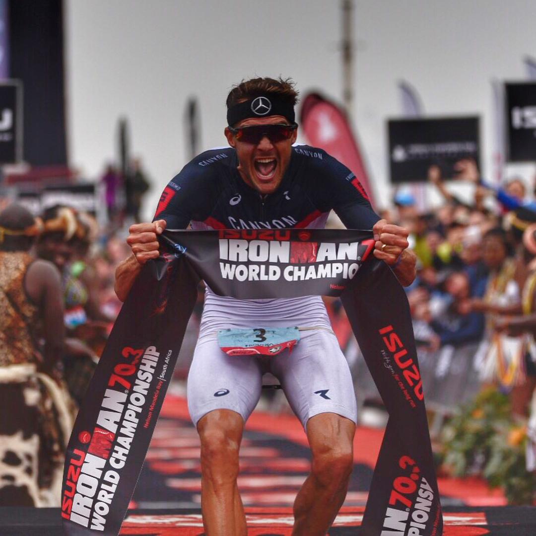 Jan Frodeno gana con autoridad Ironman 70.3 World Championship