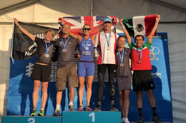 Eduardo Salas 3er lugar en Campeonato Sprint en Australia. 7 mexicanos dentro del top 10.