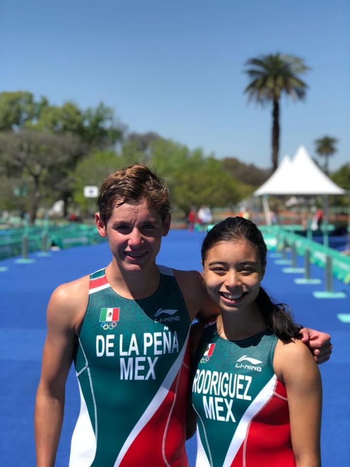 Javier De La Peña obtiene lugar 12 en los Juegos Olímpicos de la Juventud.