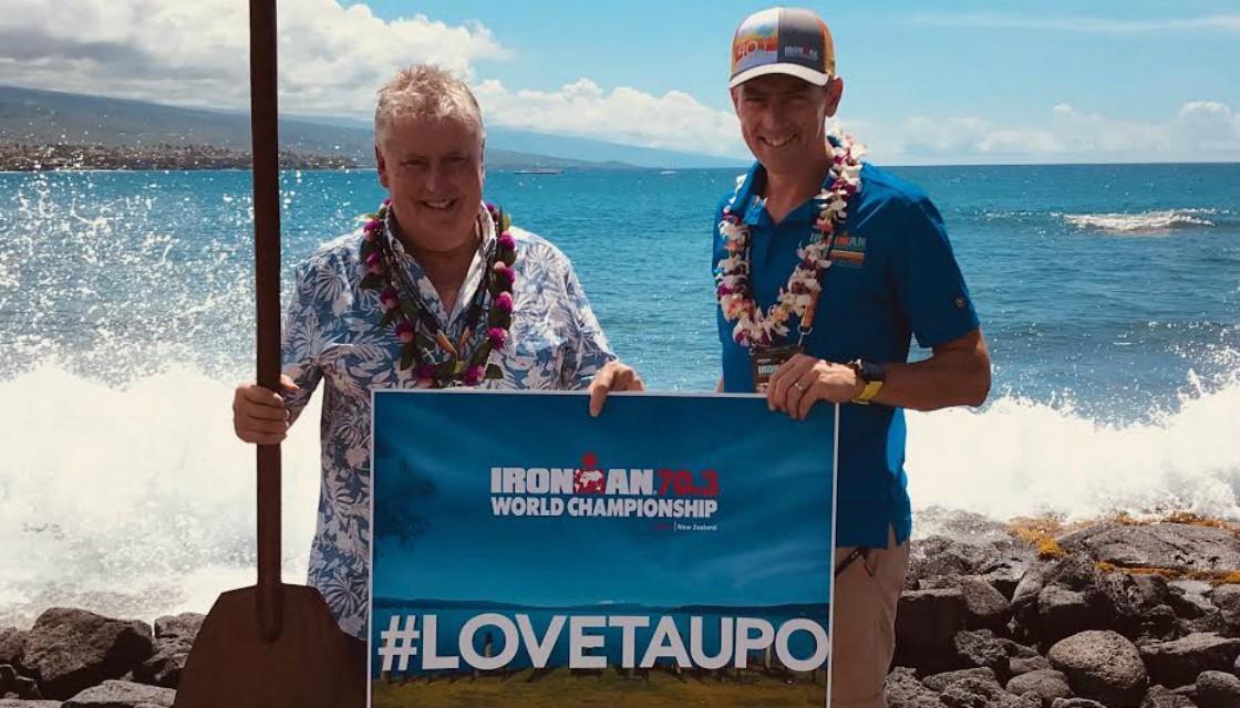 IRONMAN Anuncia Taupo, Nueva Zelanda como la ciudad anfitriona del Campeonato Mundial Ironman 70.3 edición 2020.