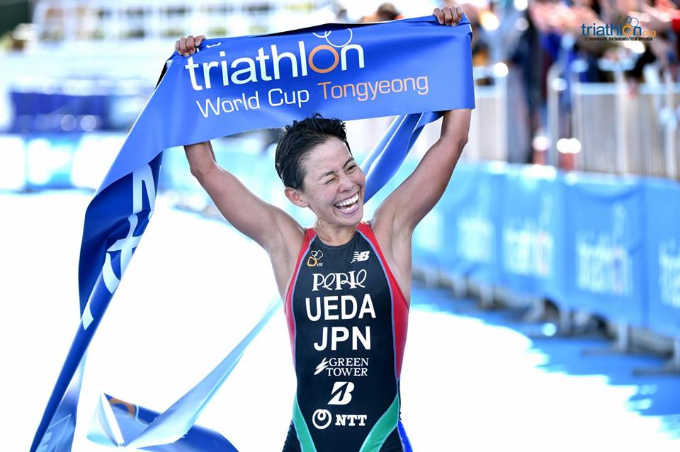 Ai Ueda y Max Studer logran victoria en Tongyeong, Adriana Barraza lugar 19.