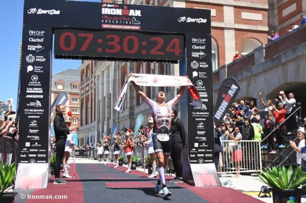 El triatleta Michael Weiss gana en Argentina su 2do Ironman en 15 días.