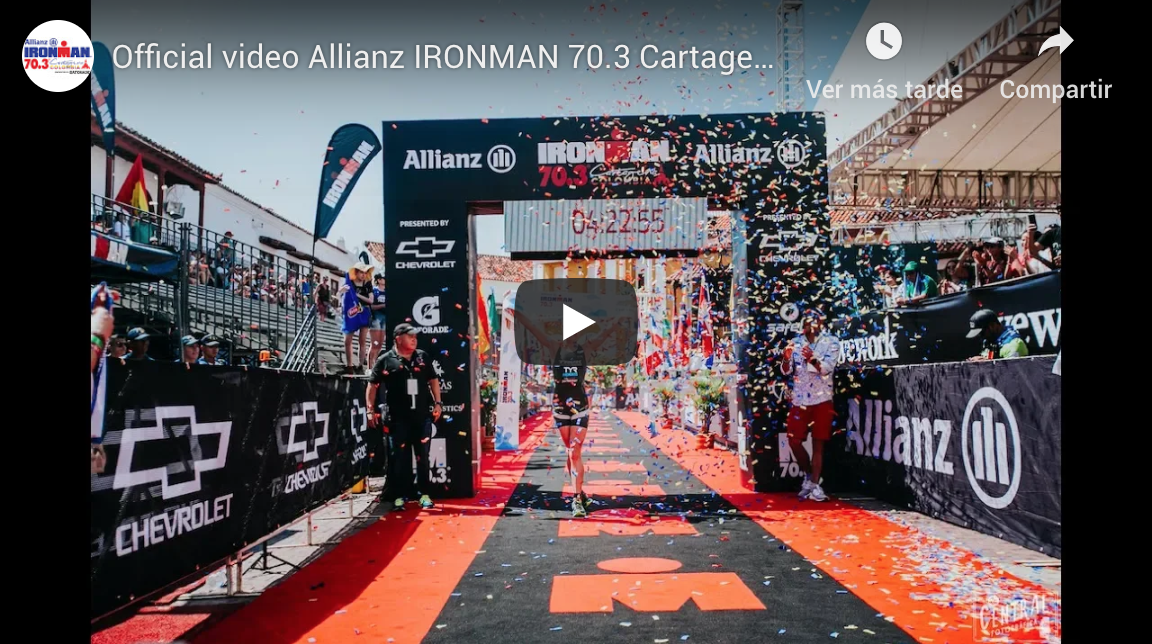 IRONMAN 70.3 Cartagena presented by Chevrolet 2018