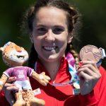 Anja Weber, joven estrella del triatlón suizo, va por las glorias de Nicola Spirig