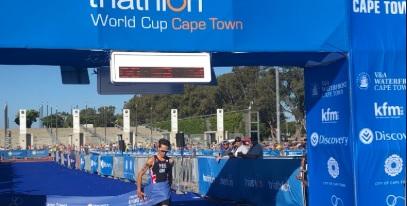 Yee y Ueda son los ganadores de la primera Copa del Mundo ITU de 2019 en Ciudad del Cabo
