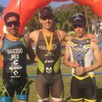 Rodrigo González triunfa en el Triatlón de Manzanillo; Ceci Pérez gana por segunda ocasión en 2019