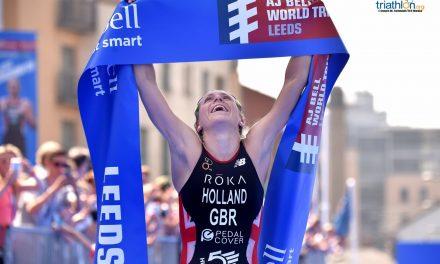 Son Vicky Holland y Mario Mola los mejores triatletas europeos de 2018