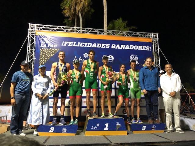 González y Pérez vuelven a triunfar en 2019, ahora en la Copa Panamericana de Triatlón La Paz 2019