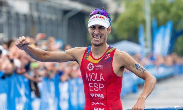 Mario Mola figura entre los 25 deportistas más influyentes en España